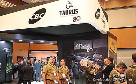 CBC e Taurus participam da Conferência de Simulação e Tecnologia Militar | Taurus  Armas