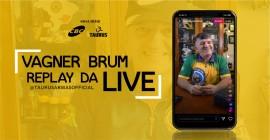 Replay Live Vagner Brum no Instagram [I Circuito de Lives CBC e Taurus 2020]