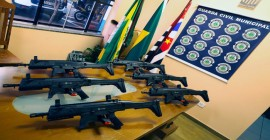 Guarda Civil realiza curso de capacitação para uso de armamento