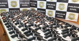 Polícia Civil oficializa doação de 125 revólveres à Guarda Municipal de Uruguaiana