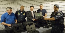 Guardas municipais recebem 109 novas pistolas