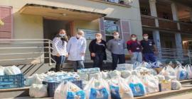 Taurus entrega doação de 14 toneladas de alimentos e produtos de limpeza para entidades sociais