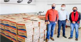 Campeonato de Tiro Esportivo destina 5 toneladas de alimentos a entidades