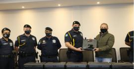 Guarda Municipal recebe novas armas