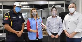 Guardas Municipais passarão a usar máscaras em Novo Hamburgo