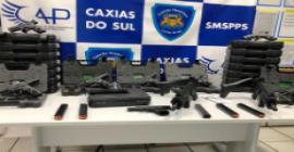 Secretaria de Segurança Pública recebe 22 armas para a Guarda Municipal