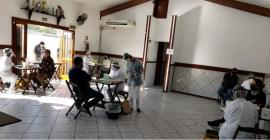Servidores do Semae realizam testes para Covid