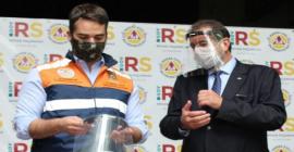 Taurus entrega 10 mil protetores faciais a Defesa Civil do Rio Grande do Sul
