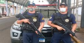 Agentes da Guarda Municipal de Esteio são habilitados para uso de armas longas