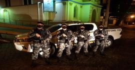 Brigada Militar de Camaquã recebe quatro novos fuzis