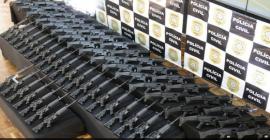 Polícia Civil gaúcha recebe 200 novos fuzis e submetralhadoras