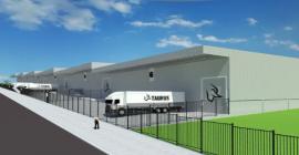 Obra do novo complexo industrial da Taurus abre 350 empregos e busca fornecedores locais