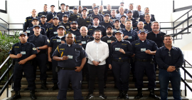 Guardas municipais recebem porte de arma