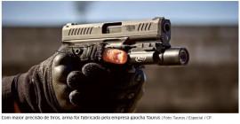 Brigada Militar adquire 5 mil pistolas TS9 de calibre 9 mm para substituir as antigas ponto 40