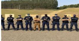 Guardas Municipais são habilitados para utilização dos fuzis Taurus T4