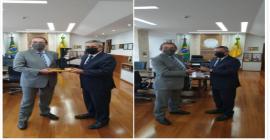 CEO Global da Taurus é recebido pelo MInistro da Defesa brasileiro