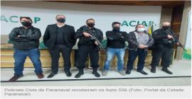 Polícia Civil de Paranavaí é equipada com dois fuzis adquiridos pelo Conseg
