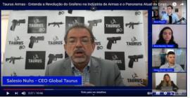 CEO Global da Taurus comenta sobre a revolução que o grafeno poderá trazer à empresa