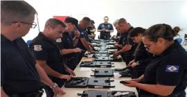 Guarda Civil Municipal habilita mais 15 GCMs para uso de pistola 9mm em Rio Claro