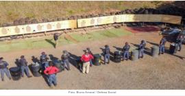 Londrina: Guarda Municipal é habilitada em carabinas Taurus CTT40 e espingardas CBC Cal. 12