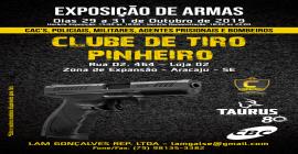 Sergipe receberá, ainda em outubro, maior Exposição de Armas de fogo já vista
