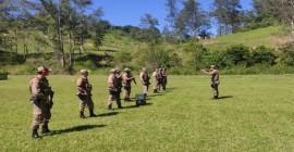 PM de Imbituba habilita efetivo no uso de carabinas de alto calibre