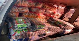 Taurus doa 96 toneladas de alimentos e produtos de limpeza para famílias carentes de São Leopoldo e outras três cidades da região