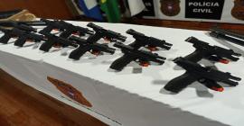 Polícia Civil doa 55 armas de fogo que atenderão o Sistema Socioeducativo