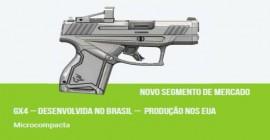 Pistola GX4 será um novo