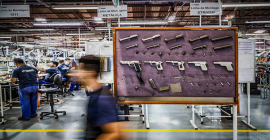 Taurus tem venda recorde de armas, e receita dispara 77% em 2020