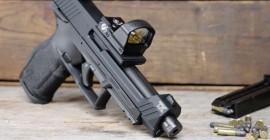 Taurus lança nova pistola TX22 Competition