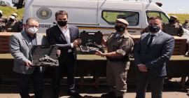 Taurus entrega armas para Brigada Militar em evento do Governo do RS que anunciou investimento de R$ 280 milhões em segurança até 2022