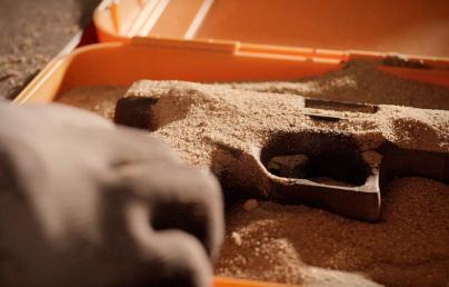 Laboratório Teste de Areia